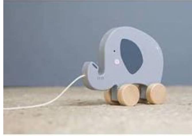 Bilde av trekkdyr elefant