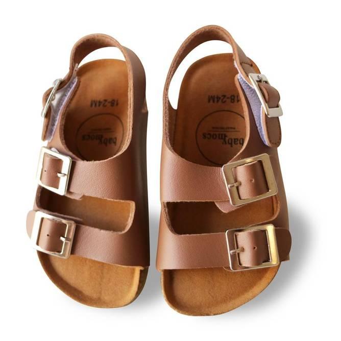 Bilde av CHILL COLLECTION BROWN sandaler