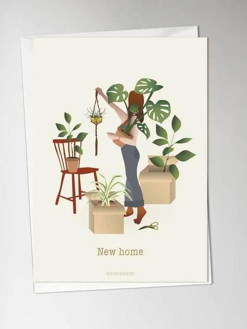 Bilde av NEW HOME - card