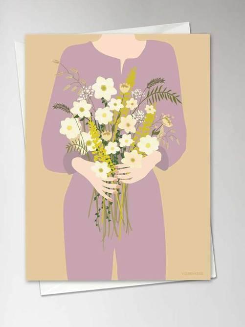 Bilde av GARDEN GIRL - greeting card