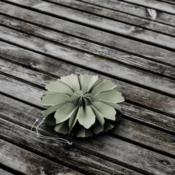 Bilde av BLOMHOLMEN Grön Blomma Dekoration