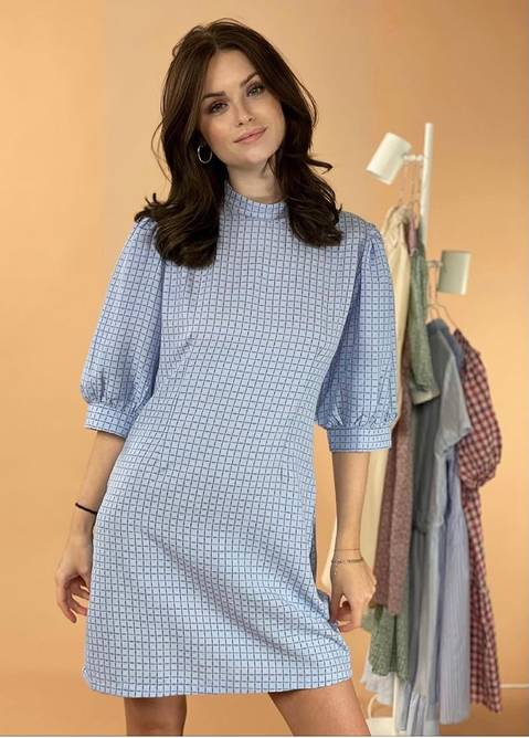 Bilde av blue dress noella