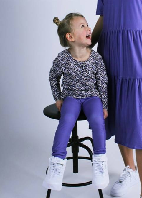Bilde av Alma purple pants kids