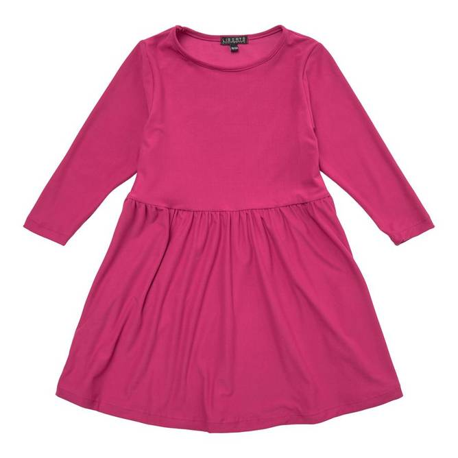 Bilde av ALMA-LS-BABYDOLL-DRESS (KIDS) - CHERRY
