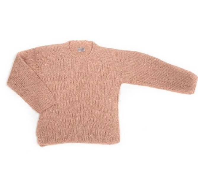 Bilde av Plainy sweater alpaca rose