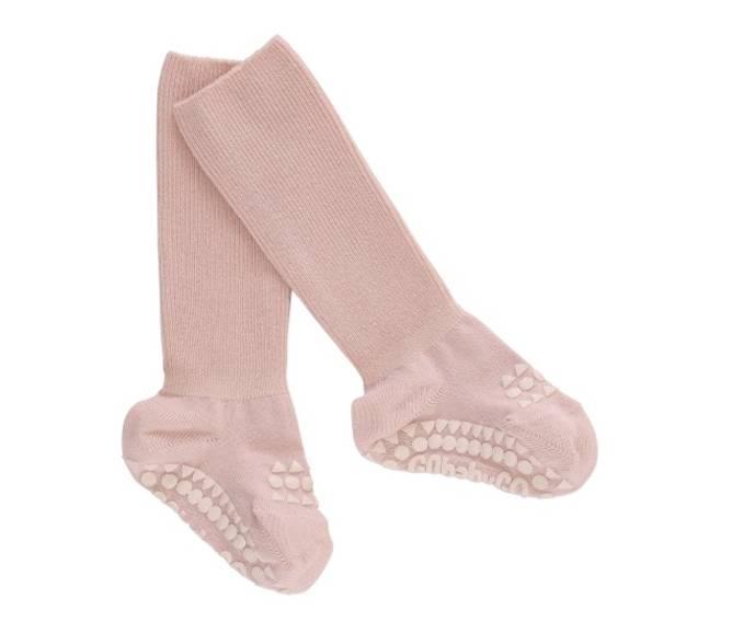 Bilde av Antiskli bambus sokker soft pink