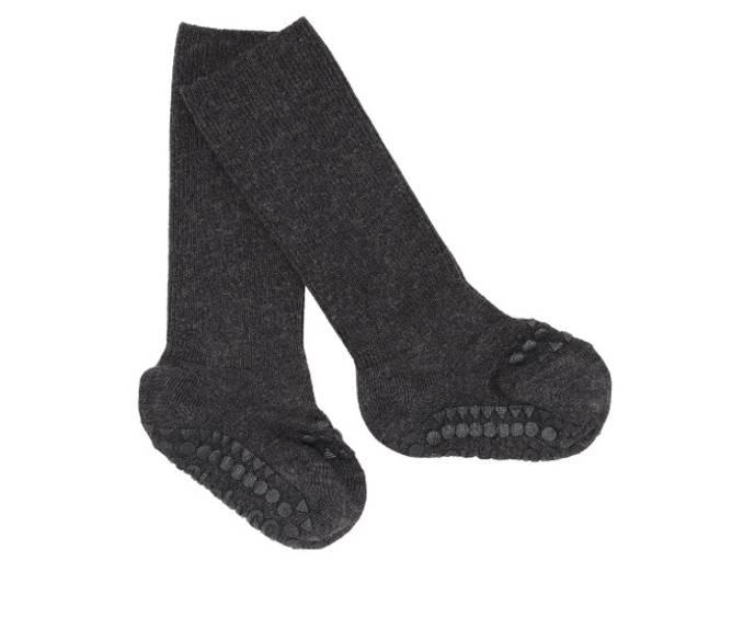 Bilde av Antiskli bambus sokker dark grey melange