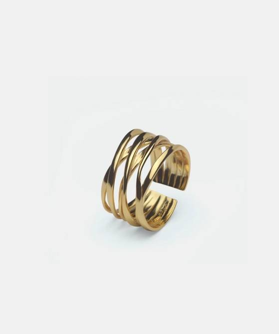 Bilde av String ring gold