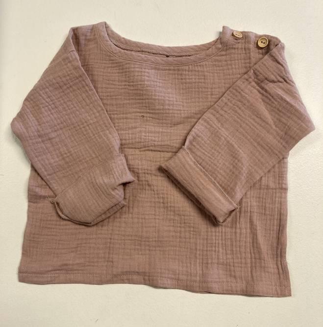 Bilde av Muslin støvet rosa genser