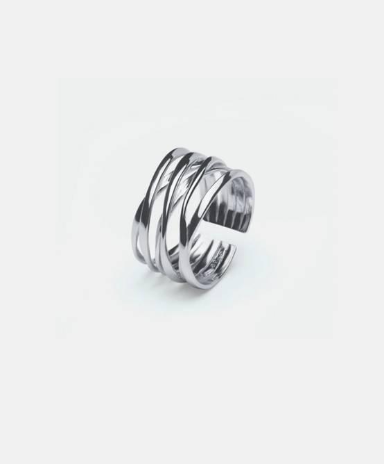 Bilde av String ring silver