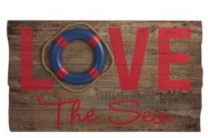 Bilde av Skilt. Love the sea