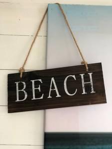 Bilde av Beach skilt