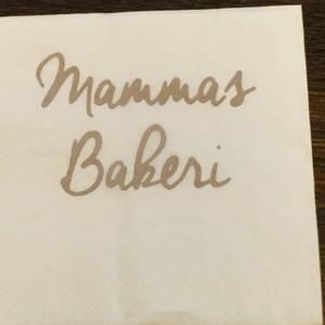 Bilde av Serviett Mammas Bakeri.