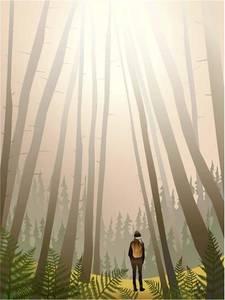 Bilde av Plakat. I skogen Visse Vasse