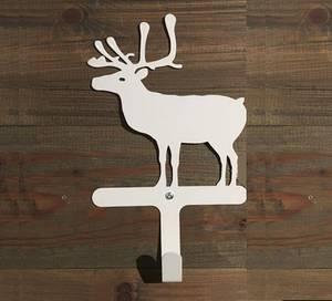 Bilde av Reinsdyr med knagg, hvit.