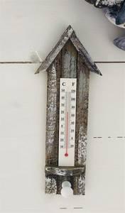 Bilde av Termometer med knagg. H 24 cm