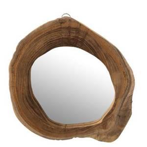 Bilde av Teak speil 25-30 cm