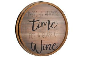 Bilde av Utsolgt igjen!  ..Alltid tid for vin. 47,5 cm