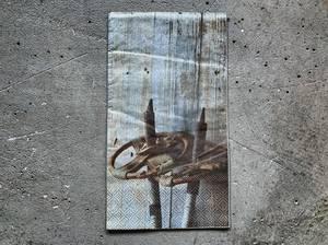 Bilde av Serviett Gamle staver 33x40 cm