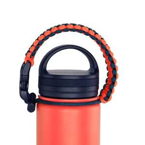 Bilde av Termoflaske orange, livet er best ute