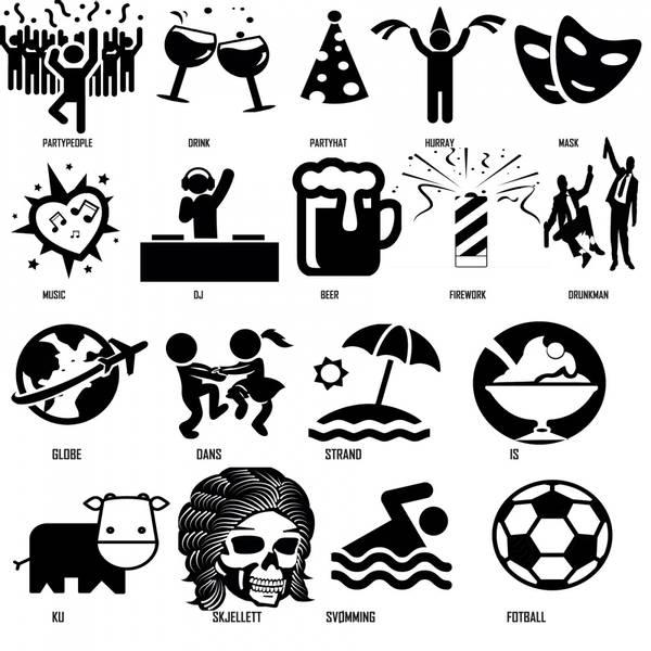 10stk armbånd motiv /tekst/logo