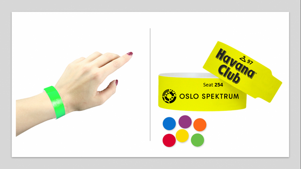 10stk armbånd egen logo/tekst