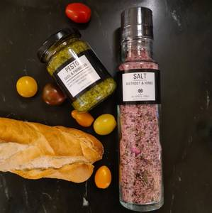 Bilde av Kvernsalt med rødbet & urter | The Spice Tree