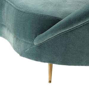 Bilde av Provocateur sofa dyp turkis fløyel | Eichholtz