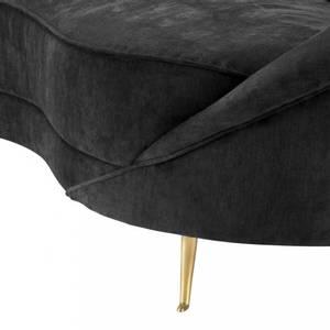 Bilde av Provocateur sofa mørk grå fløyel | Eichholtz