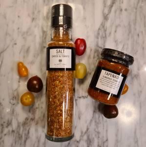 Bilde av Kvernsalt med ost & tomat | The Spice tree