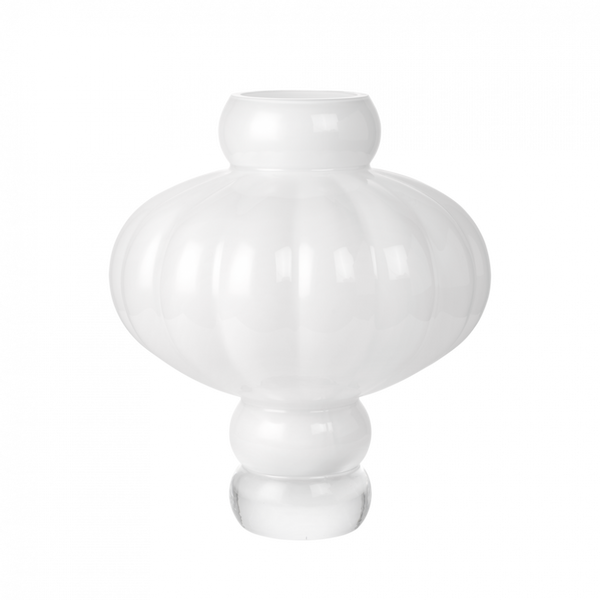 Bilde av Balloon vase 03 opal hvit