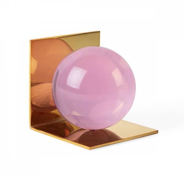 Bilde av Globo bokstøtte rosa