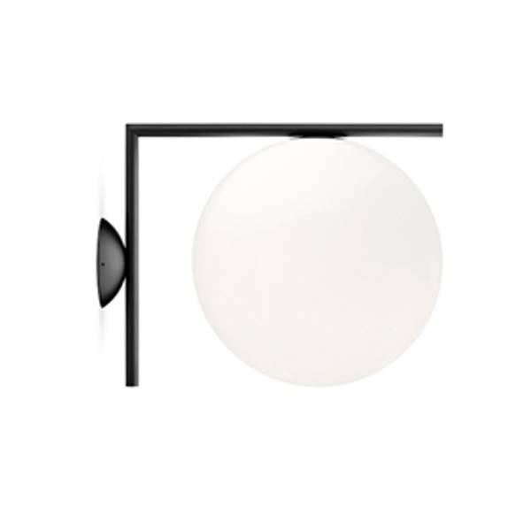 Bilde av IC 1 vegg/taklampe svart | FLOS