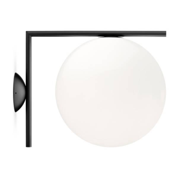 Bilde av IC 2 vegg/taklampe svart | FLOS