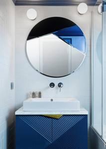 Bilde av Nouveau 80cm rundt speil | Reflections Copenhagen