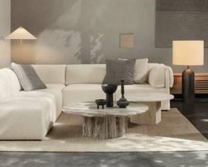 Bilde av Epic salongbord 110cm grå travertin