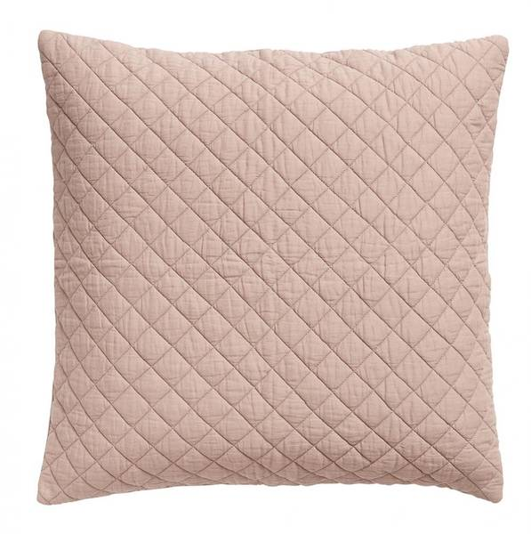 Bilde av Vaffelmønstret putetrekk i gammel rosa 50x50