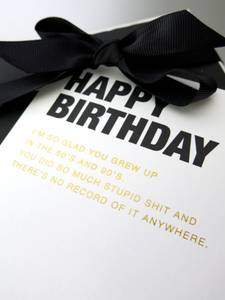 Bilde av Happy birthday I'm so glad... kort | Cardsome
