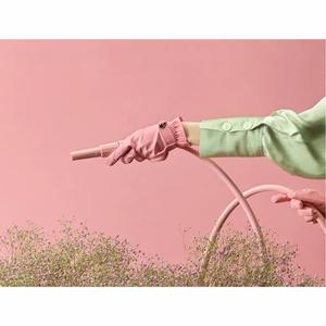 Bilde av Hagehansker i rosa M