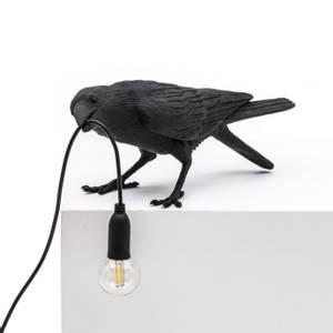 Bilde av Bordlampe Bird playing i svart | Seletti