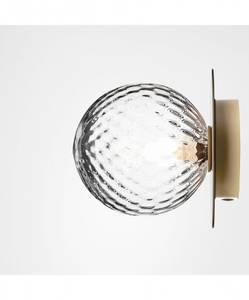 Bilde av Liila 1 (M) vegg/taklampe messing mønstret