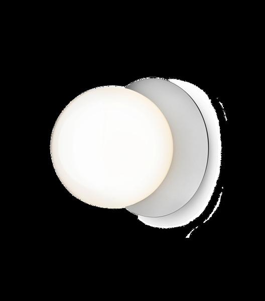 Bilde av Liila 1 (M) vegg/taklampe krom med opalt glass |