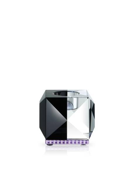 Bilde av Ophelia klar/svart/ lilla krystall
