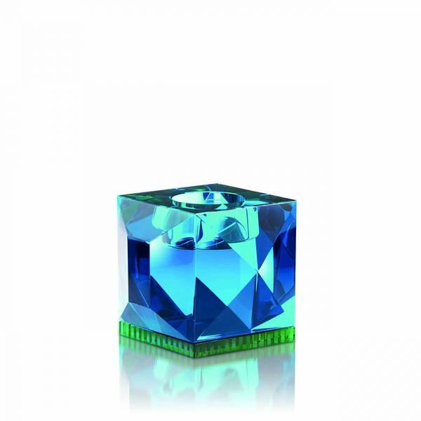 Bilde av Ophelia telysestake Azure blå krystall