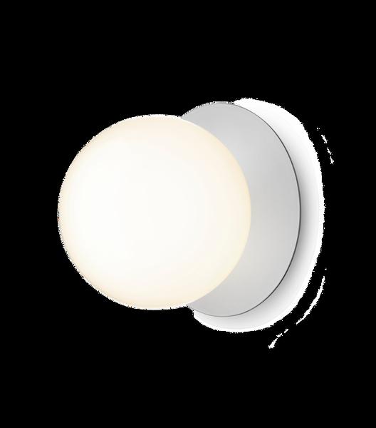 Bilde av Liila 1 (L) vegg/taklampe krom opalt glass |