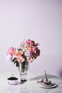 Bilde av New haven basin rosa krystall