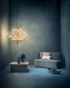 Bilde av 2097/30 pendel messing med LED pærer | FLOS