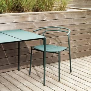 Bilde av Novo spisestol ute grønn
