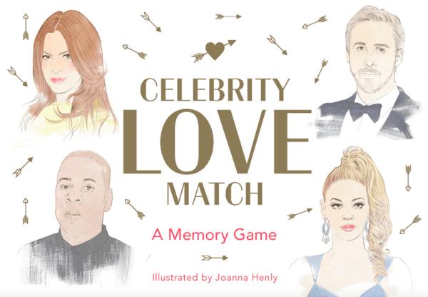 Bilde av Kjendis love match memory game