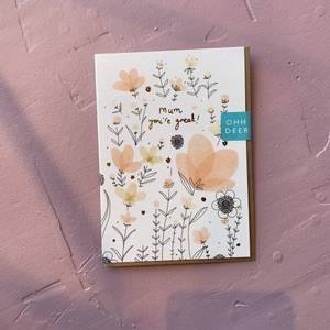 Bilde av Mum you're great kort